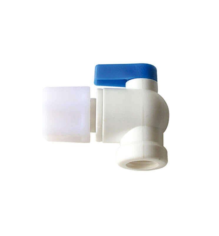 Llave depósito ósmosis para equipos purificadores de Osmosis Inversa.  Bbagua.