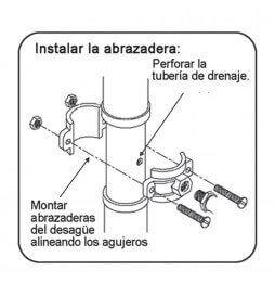Manual collarín Desagüe ósmosis para equipos Osmsosis Inversa.  Bbagua.
